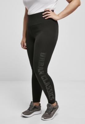 Colanti cu talie inalta Branded pentru Femei negru-negru Urban Classics