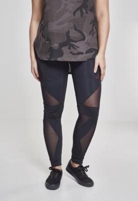 Colanti Triangle cu plasa pentru Femei negru-negru