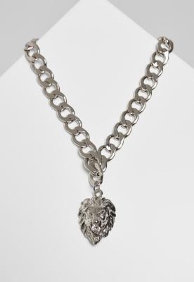 Colier Lion Basic argintiu Urban Classics