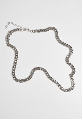 Colier Long Basic Chain argintiu Urban Classics