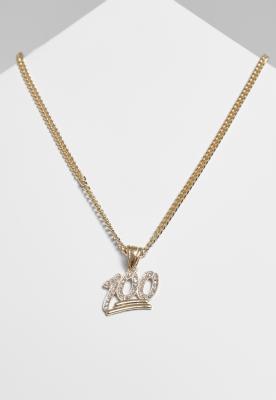 Colier One Hundred Diamond auriu Urban Classics