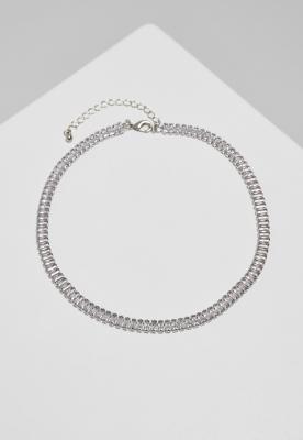 Colier Short Crystal argintiu Urban Classics