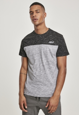Color Block Tech Tee marled-gri Southpole