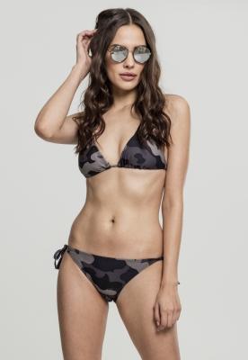 Costum de baie bikini Camo pentru Femei inchis-camuflaj Urban Classics