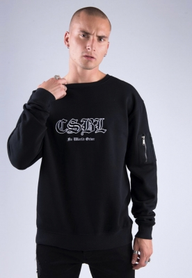 Bluza maneca lunga CSBL Arise negru-alb Cayler and Sons