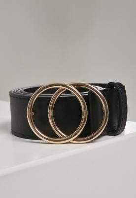 Curea Ring Buckle negru Urban Classics