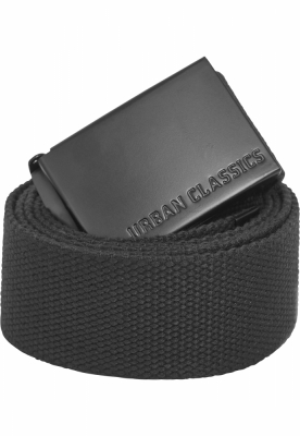 Curele panza barbati negru-negru Urban Classics