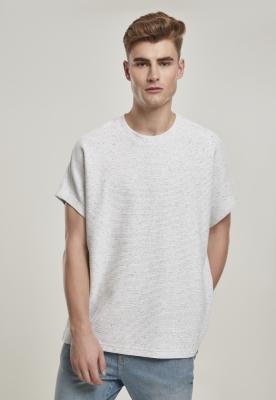 Cut On Sleeve Naps Interlock Tee gri deschis Urban Classics