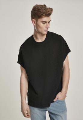 Cut On Sleeve Naps Interlock Tee negru Urban Classics