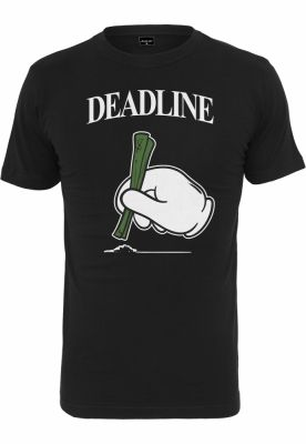 Tricou Deadline negru Mister Tee