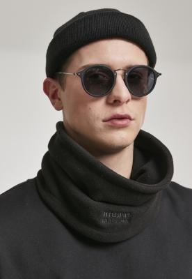 Fular din fleece cu cu buzunar negru Urban Classics