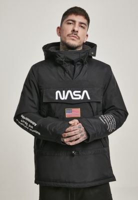 Geaca pentru vant NASA negru Mister Tee