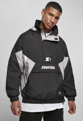 Geaca pentru vant Starter negru-silvergrey alb