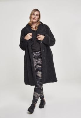 Geaca Soft Sherpa pentru Femei negru Urban Classics