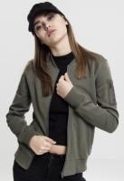Geaca sport tip bomber pentru Femei oliv Urban Classics