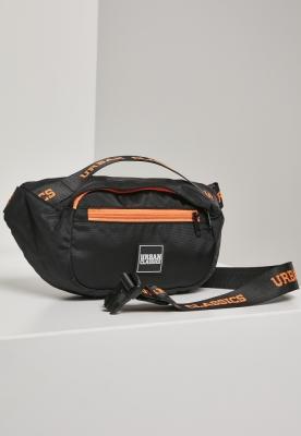Geanta de Umar Basic negru-portocaliu Urban Classics