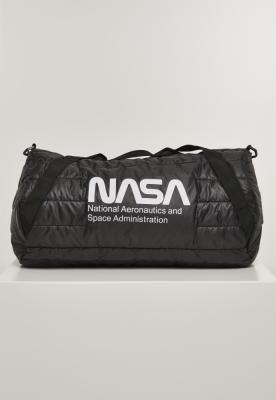 Geanta NASA Puffer Duffle negru Mister Tee