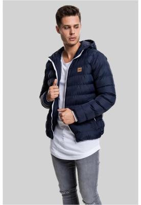 Geci de iarna basic bleumarin-alb Urban Classics