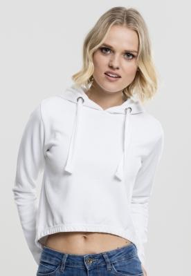 Hanorac casual Interlock pentru Femei alb Urban Classics