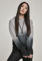 Hanorac Dip Dye pentru Femei negru-gri Urban Classics
