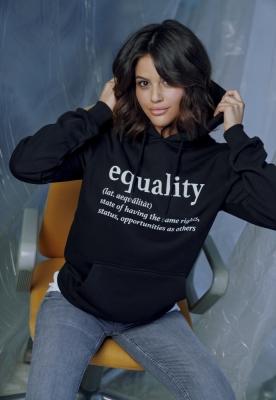 Hanorac Equality Definition pentru Femei negru Mister Tee