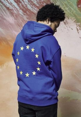 Hanorac Europe albastru Mister Tee