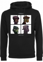 Hanorac Gorillaz Demon Days negru Merchcode