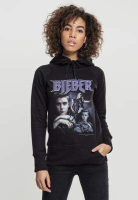 Hanorac Justin Bieber 90s pentru Femei negru