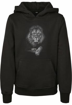 Hanorac Lion pentru Copii negru Mister Tee