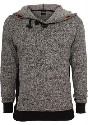 Hanorac Melange tricot negru-gri Urban Classics