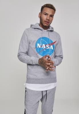 Hanorac NASA deschis-gri Mister Tee