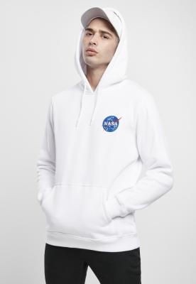 Hanorac NASA Insignia Logo EMB alb Mister Tee