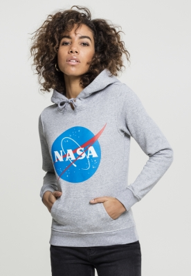 Hanorac NASA Insignia pentru Femei deschis-gri Mister Tee
