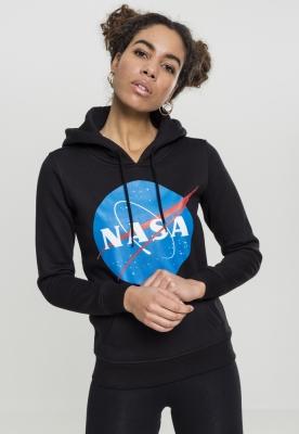 Hanorac NASA Insignia pentru Femei negru Mister Tee