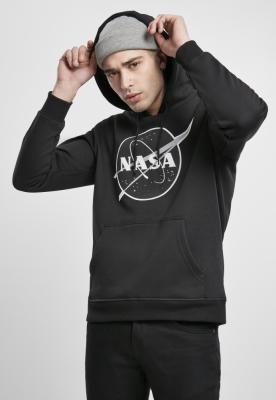 Hanorac NASA negru-and-alb Insignia negru Mister Tee