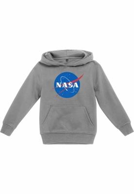 Hanorac NASA pentru Copii deschis-gri Mister Tee