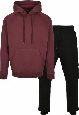 Pantaloni sport urban Hanorac gluga Blank + Cargo Suit Pack Urban Classics