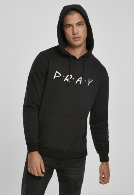 Hanorac Pray Wording negru Mister Tee
