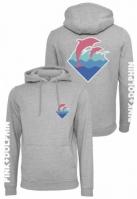 Hanorac roz Dolphin Logo deschis-gri Pink Dolphin