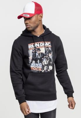 Hanorac Run DMC King of Rock negru Mister Tee
