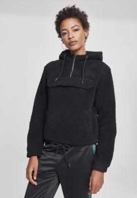 Hanorac Sherpa pentru Femei negru Urban Classics