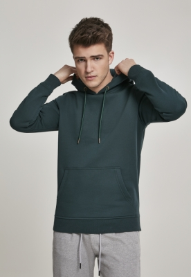 Hanorac simplu model sport Basic bottlegreen Urban Classics