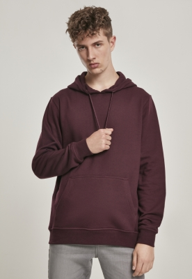 Hanorac simplu model sport Basic redwine Urban Classics