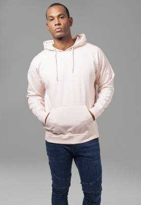 Hanorac simplu model sport supradimensionat roz