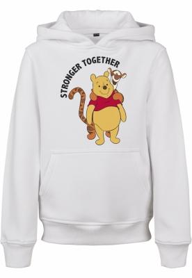 Hanorac Stronger Together pentru Copii alb Mister Tee