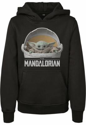 Hanorac The Mandalorian The Child Pod pentru Copii negru Mister Tee