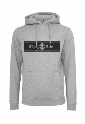 Hanorac Thug Life Box Logo gri