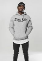 Hanorac Thug Life Old English gri Mister Tee
