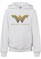 Hanorac Wonder Logo pentru Femei pentru Copii alb Mister Tee