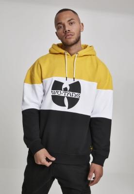 Hanorac Wu-Wear Block negru-alb galben